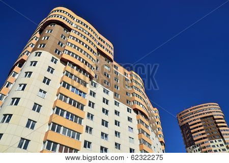 Kaliningrad New Buildings. Russia