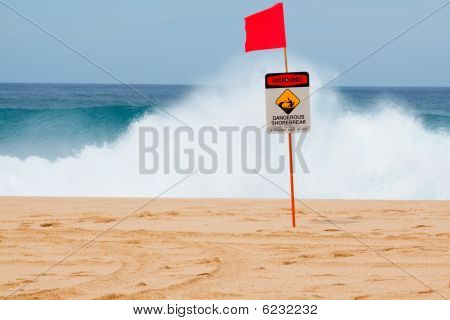 Dangerous Shore Break