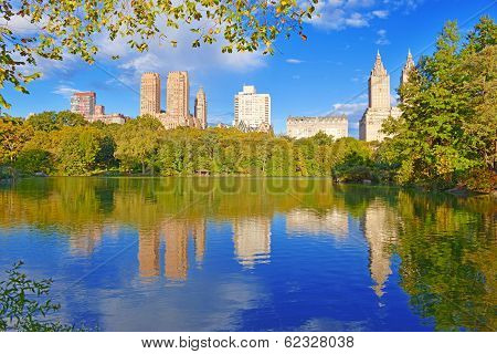 Central Park and City Skyline, New York City