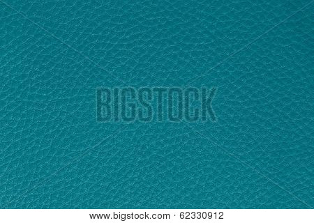 Background from blue leather