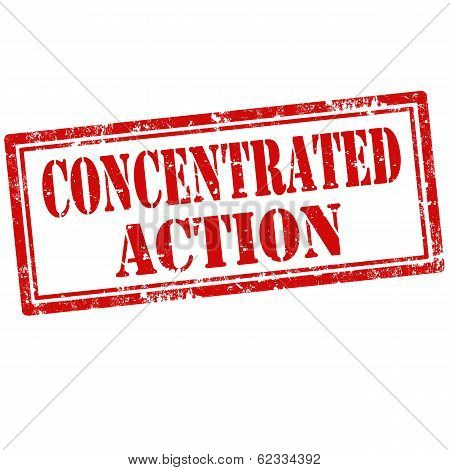 Concentrated Action-stamp