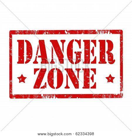 Danger Zone-stamp