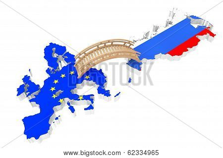 Bridge Between Europe And Russia