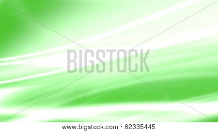 Green Background With Shinny White Lines