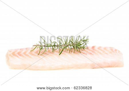 Raw Fillet Of Cod