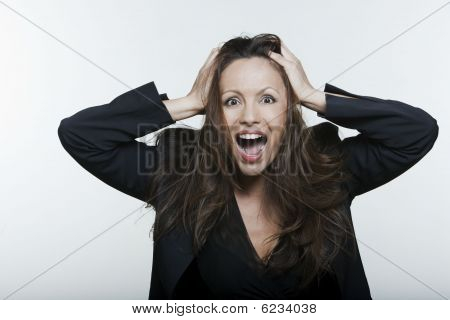 Joyful Asian Woman