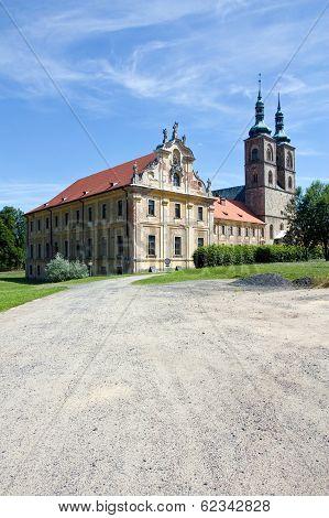 Abbey, Tepla, Czech Republic, 2013