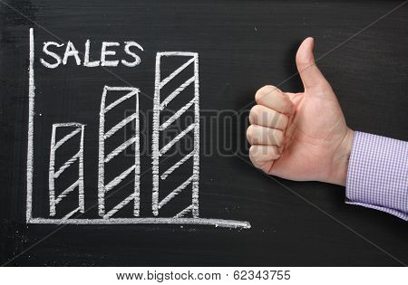 Sales Thumbs Up