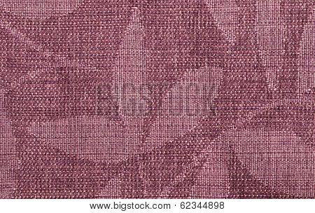 Pink Nodes Forming A Shape Of A Leaf