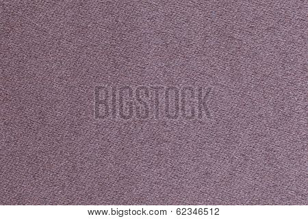 Plush Cover Made Of Violet Thin Strings