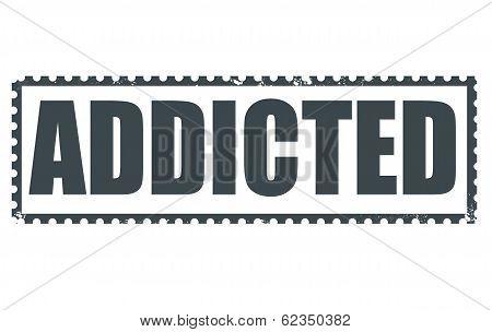 Addicted Stamp