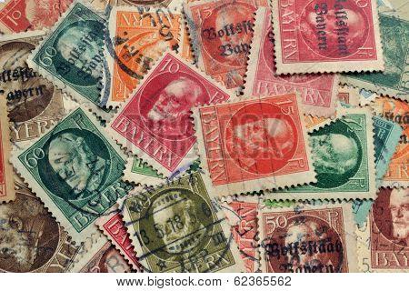 Bayern stamps