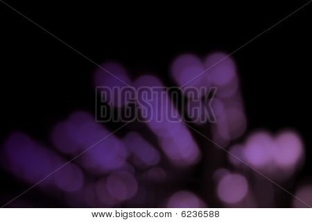 Festive Holiday Bokeh With Pink And Purple Colors