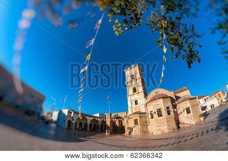 The Church Of Saint Lazarus In Larnaca, Cyprus