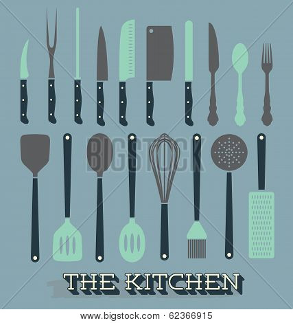 Vector Set: Kitchen Supplies