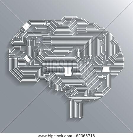 Circuit board brain