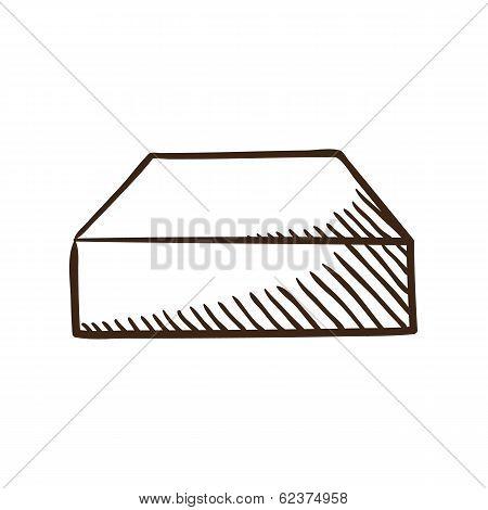 Hard drive symbol.