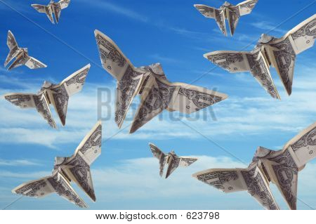 Flight Of The Dollar Bills