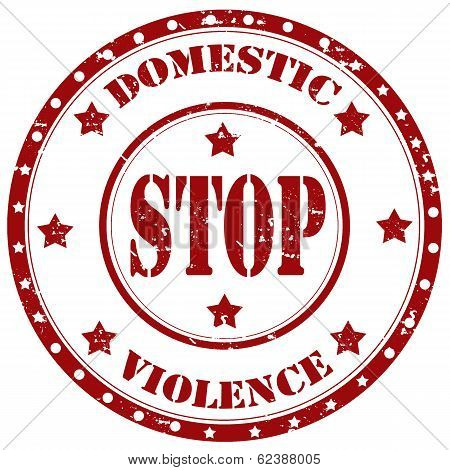 Stop Domestic Violence-stamp