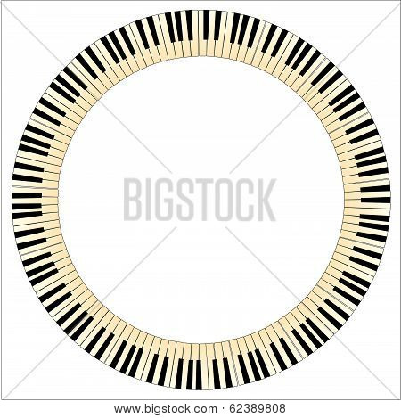Piano Key Circle.eps