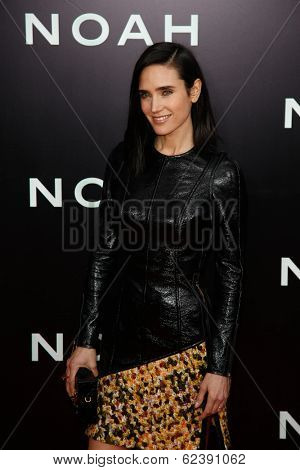NEW YORK-MAR 26: Actor Jennifer Connelly attends the premiere of