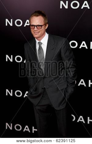 NEW YORK-MAR 26: Actor Paul Bettany attends the premiere of
