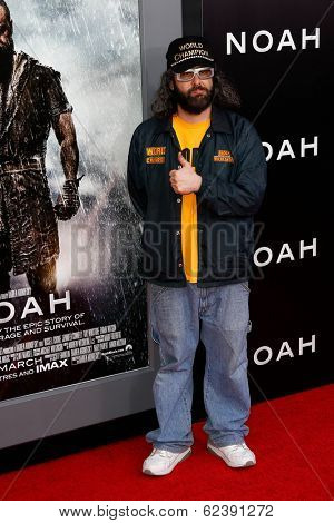 NEW YORK-MAR 26: Actor Judah Friedlander attends the premiere of