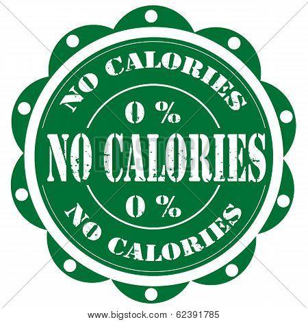 No Calories-stamp