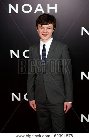 NEW YORK-MAR 26: Actor Leo McHugh Carroll attends the premiere of