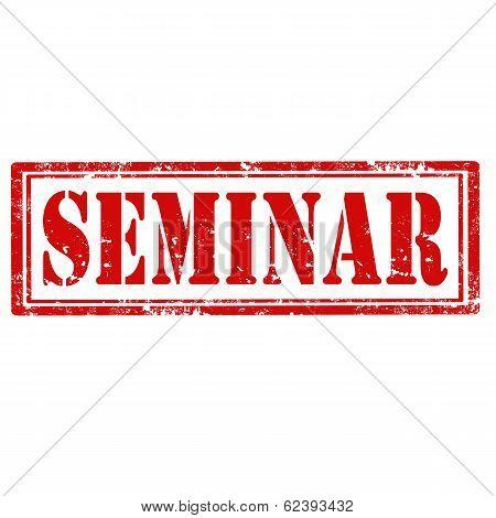 Seminar-stamp