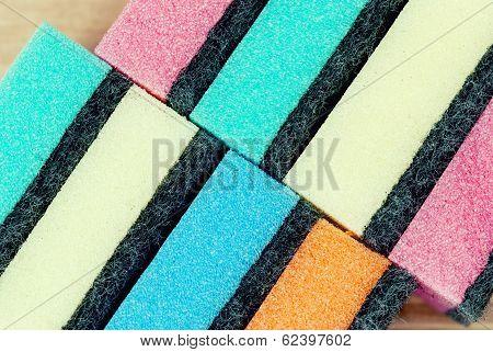 Multi Colored Kitchen Sponges