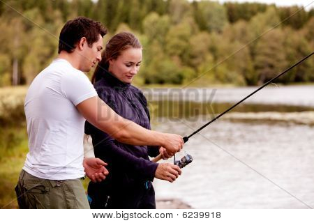unterrichten Fischerei