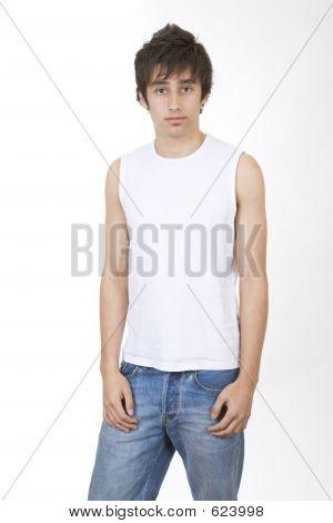 Teenager Standing