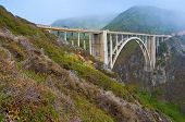 stock photo of bixby  - Bixby Bridge - JPG