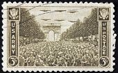 Paris 1945 Stamp