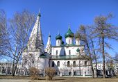 Elijah the Prophet Church. Yaroslavl, Russia