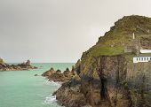 foto of sark  - Coastal scene on Sark looking out over the English Channel - JPG