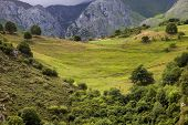 Mountains of Picos de Europa in the north of spain