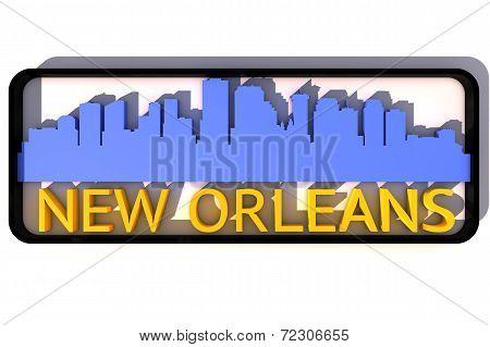New Orleans USA logo