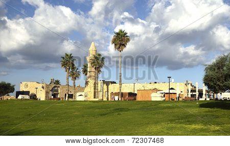 Archaeological Park Of Caesarea