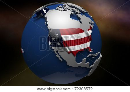 United States of america USA Country Map