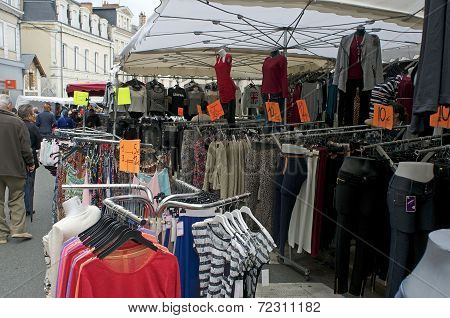 Rummage sale in town