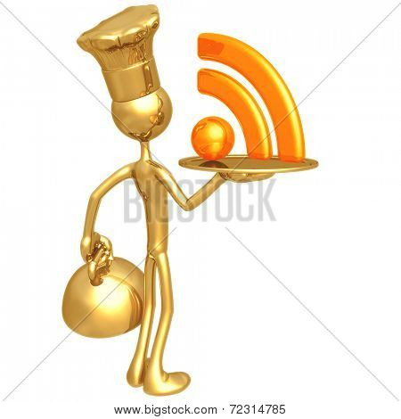 Golden Chef Serving RSS Feed