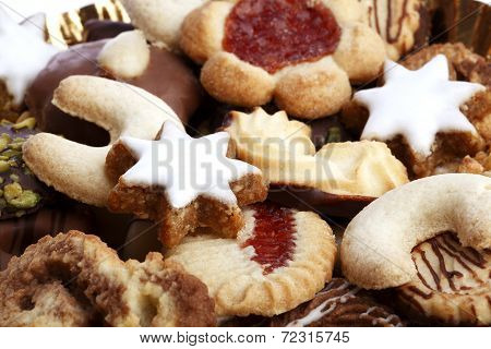 Different Tasty Cookies