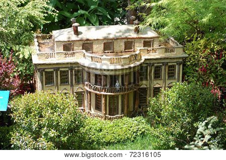 White House in Miniature