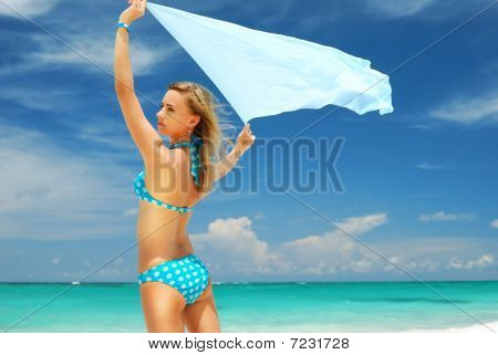 Woman With Sarong