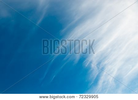 Cloud Ad Space Background