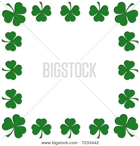 Clovers leaves