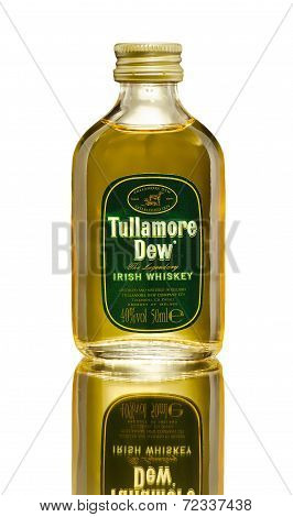Miniature Bottle Of Tullamore Dew Irish Whiskey