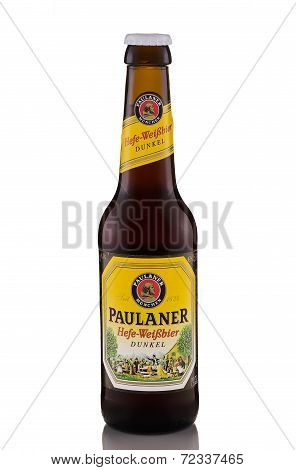 Paulaner Hefe-weissbier Dunkel beer